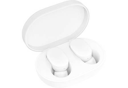 Беспроводные наушники Mi True Wireless Earbuds (ZBW4420GL) White Витрина, фото 2