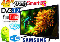 "Телевизор LED Smart Samsung Android, Wi-Fi, Full HD 42"" дюйма S seria 42-323 + Подарок!"