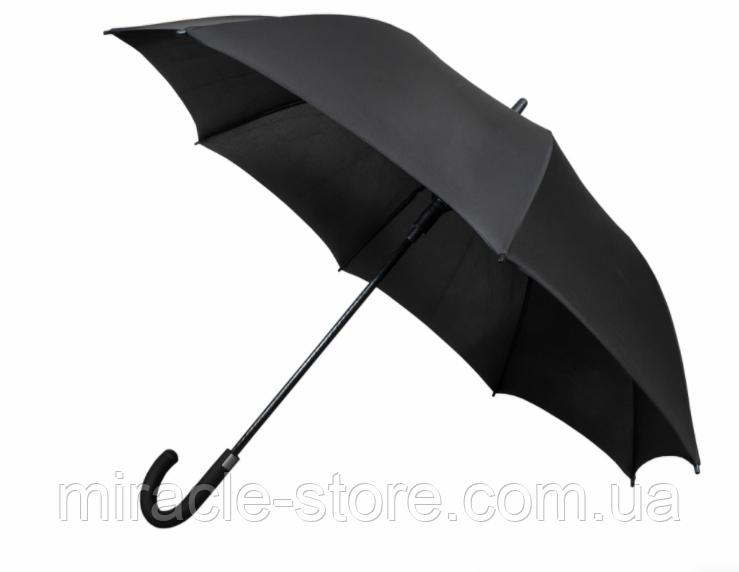 Зонт трость мужской полуавтомат Star Rain черный 8 спиц