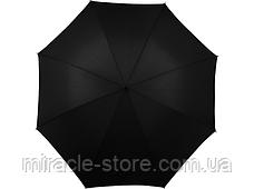 Зонт трость мужской полуавтомат Star Rain черный 8 спиц, фото 2