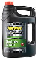 TEXACO HAVOLINE Diesel Extra 10W-40, Моторное, Полусинтетическое, 5 л