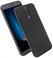 Чехол силиконовый для Huawei mate 10 lite черный (хуавей мат 10 лайт)