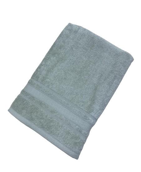 Махровое полотенце tac softness 70*140 см зеленый #S/H
