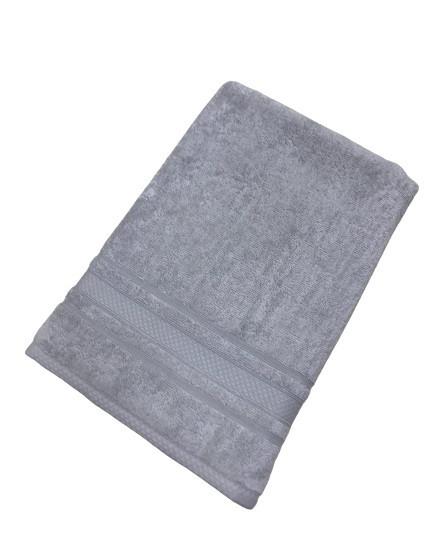 Махровое полотенце tac softness 70*140 см серый #S/H