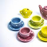 Набор фарфоровый чайный сервиз YH5989-D501, фото 3