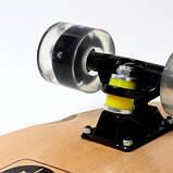 Пенниборд Canada. Черные светящиеся колеса., фото 5