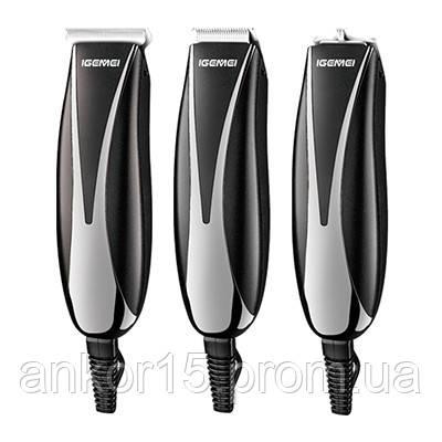 Машинка для стрижки волосся iGemei GM-840 3 в 1