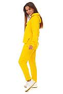 Лимонный спортивный костюм кофта и штаны, фото 2