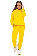 Лимонный спортивный костюм кофта и штаны, фото 3