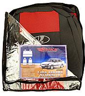 Автомобильные чехлы ВАЗ 21099/2115 MAX Авточехлы на сидения Лада Самара 21099/2115 Lada Samara красный Nika