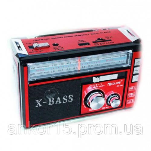 Радіоприймач Golon RX-382