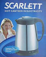 Электрический чайник термос Scarlett Zy-180c3, 1850Вт, фото 1