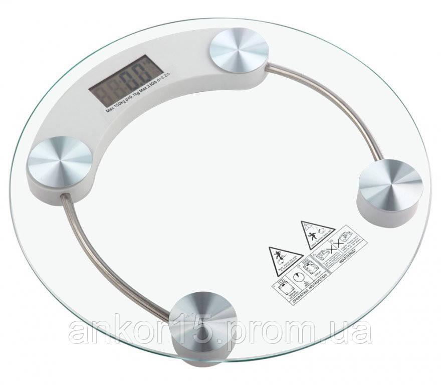 Весы напольные стекло   2003A 180 кг