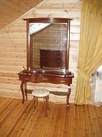 Трюмо из массива ольхи или ясеня коллекция «Полесье»