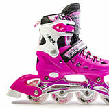 Ролики Scale Sports Pink, размер 38-42, фото 3