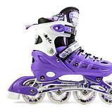 Ролики Scale Sports. Violet, размер 29-33, фото 3