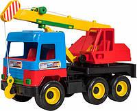 Машинка игрушечная Автокран Middle Truck Tigres 39226