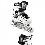 Ролики-коньки Scale Sport. White (2в1) р. 29-33, фото 3