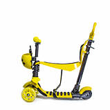Самокат Scooter Божья коровка 5in1 Yellow, фото 3