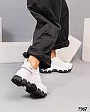 Кроссовки женские кожаные белые, фото 2
