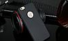 Силиконовый черный чехол для Iphone 6 6S