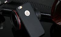Силиконовый черный чехол для Iphone 6 6S, фото 1