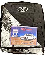 Автомобильные чехлы ВАЗ 2107 Авточехлы на сидения Лада 2107 Lada 2107 COPER Nika модельный комплект