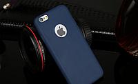 Силиконовый cиний для Iphone 6 6S, фото 1
