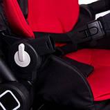 Универсальная детская коляска Evenflo Vesse Original LC839A-W8BD Красная, фото 4