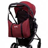 Универсальная детская коляска Evenflo Vesse Original LC839A-W8BD Красная, фото 5