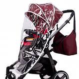 Универсальная детская коляска Evenflo Vesse Original LC839A-W8BD Красная, фото 6