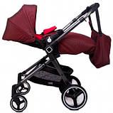 Универсальная детская коляска Evenflo Vesse Original LC839A-W8BD Красная, фото 8