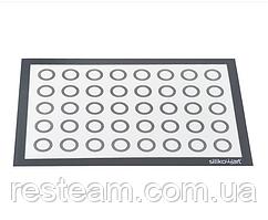 FIBERGLASS Силиконовый коврик With Circles 58,3x38,4 см