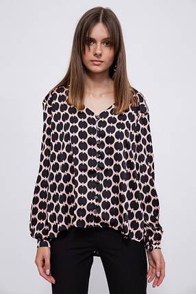 Блуза 115R169D цвет Черно-розовый, фото 2