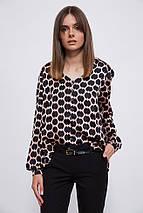 Блуза 115R169D цвет Черно-розовый, фото 3