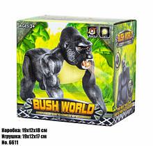 Шимпанзе игрушка детская звуковые и световые эффекты 6611