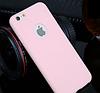 Силиконовый персиковый чехол для Iphone 6 6S