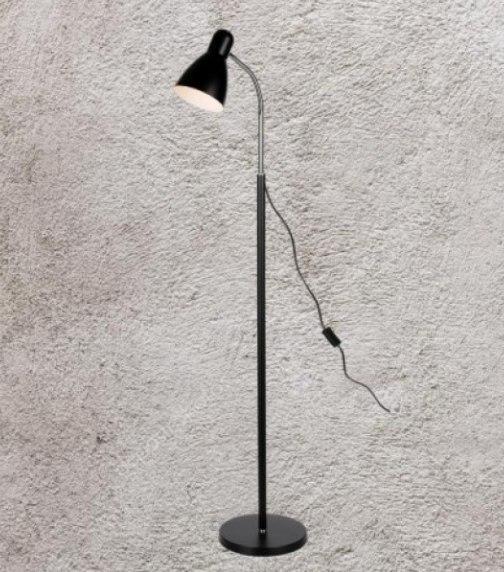 Торшер в стиле лофт Levistella 756PR5530-1 BK