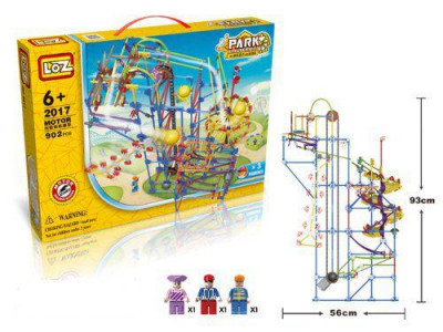 Электромеханический конструктор LoZ Amusement Park Game Machine 902 Детали