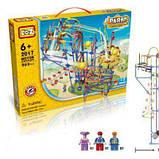 Электромеханический конструктор LoZ Amusement Park Game Machine 902 Детали, фото 2