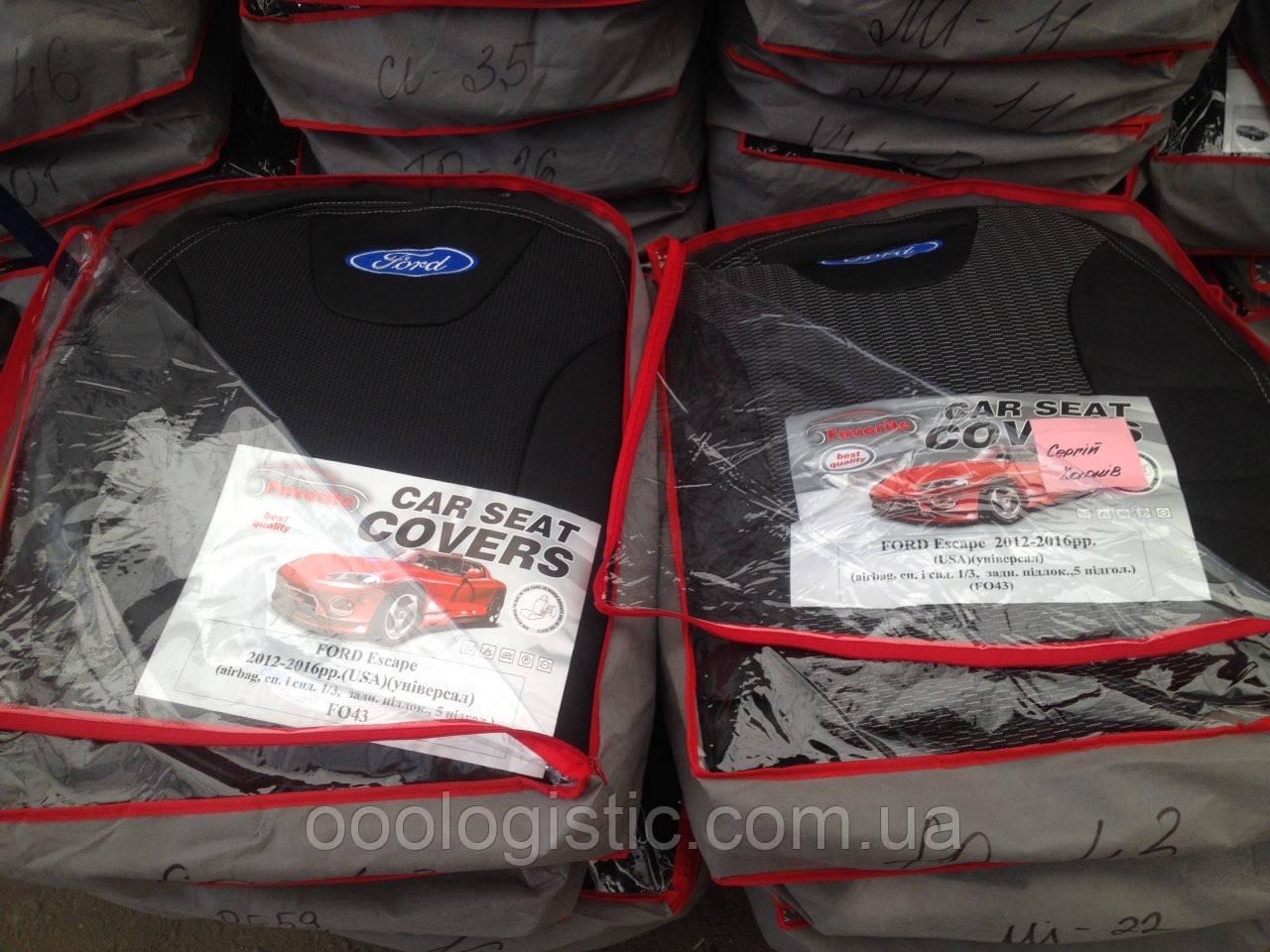 Авточехлы  на Ford Escape 2012-2016(USA) универсал