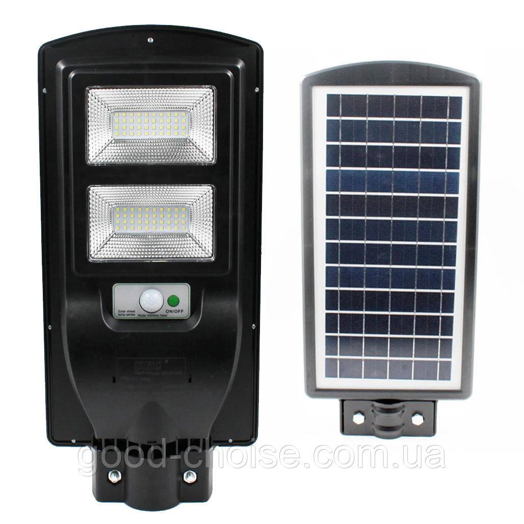 Уличный светодиодный LED светильник  2VPP 60W на солнечных батареях