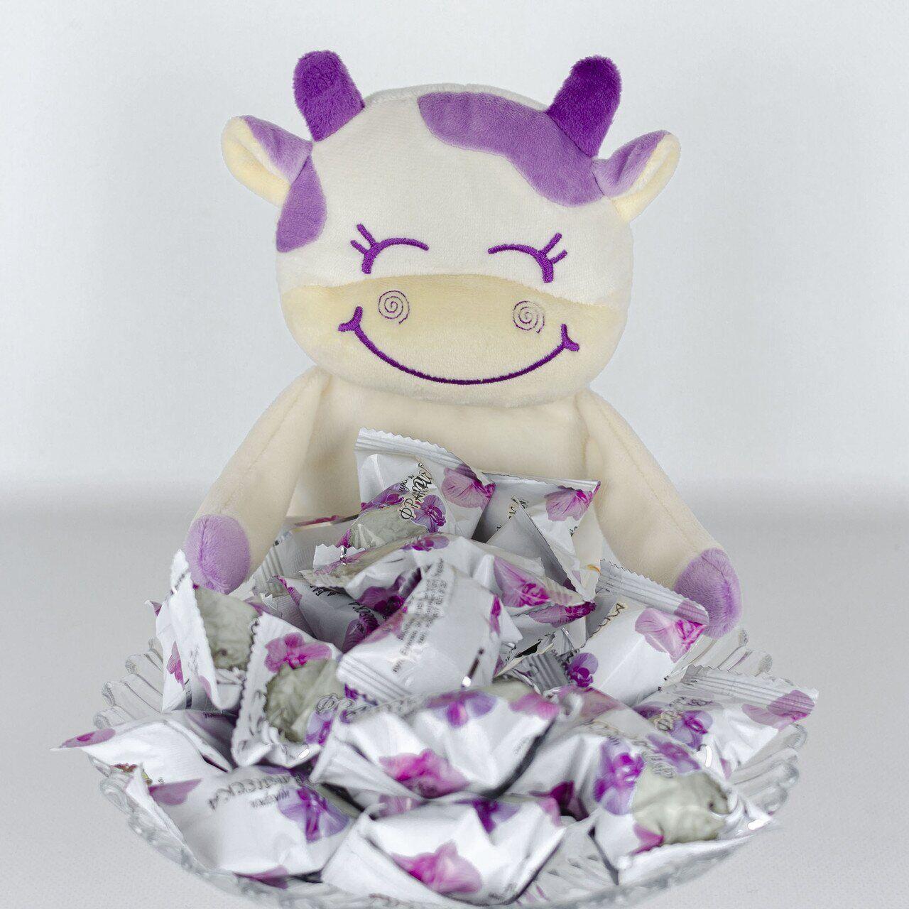Корова Хлоя для цукерок м'яка іграшка Kidsqo 26см