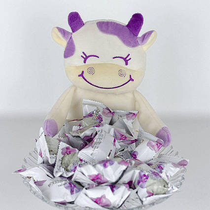 Корова Хлоя для конфет мягкая игрушка Kidsqo  26см