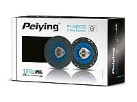 """Автомобільні динаміки 120 Вт 6"""" Peiying PYAQ603C, фото 1"""