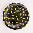 Тарелки одноразовые праздничные  салатовые  Тренд, фото 2