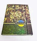 Папка-короб на резинке, А4, 25 мм, полноцветная, PP-покрытие, фото 4