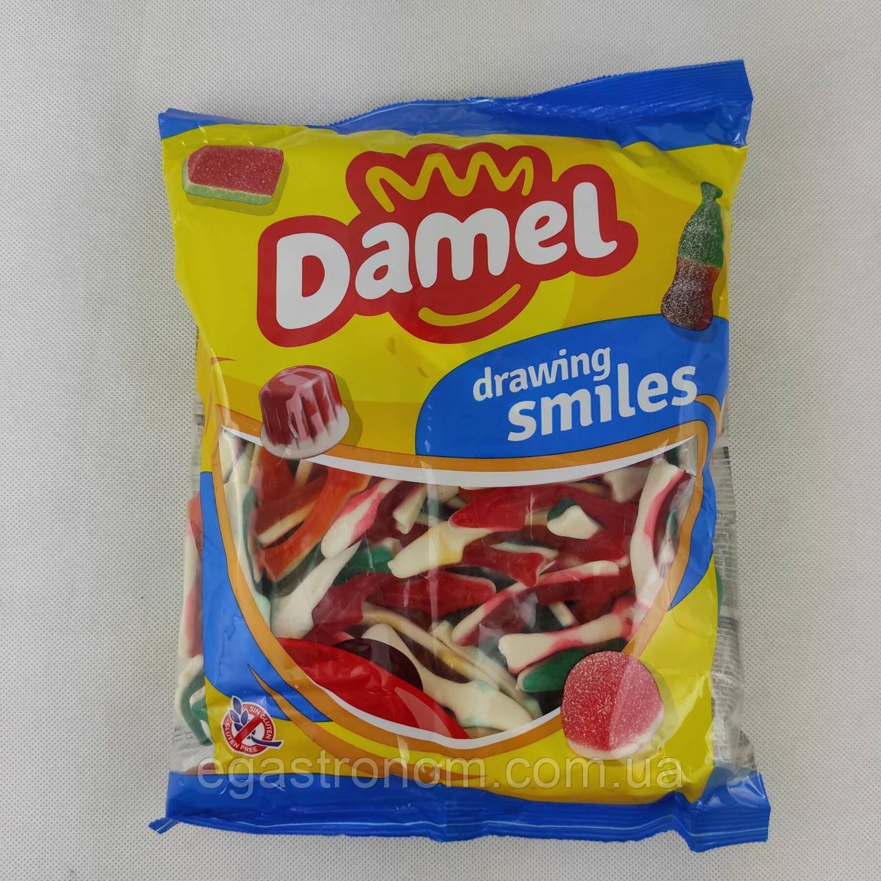 Желейки Дамел акула Damel sharks 1kg 12шт/ящ (Код : 00-00003708)