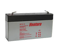 Аккумулятор  6В 1.3А/час Ventura GP 6-1,3