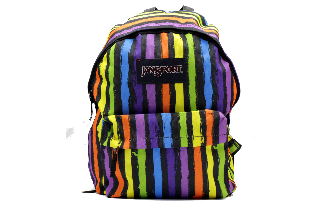 Міський яскравий рюкзак з текстилю середнього розміру унісекс